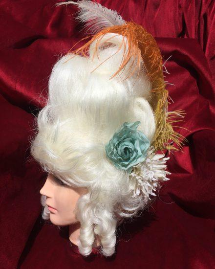 Masquerade Ladies High White Georgian Wig Masquerade