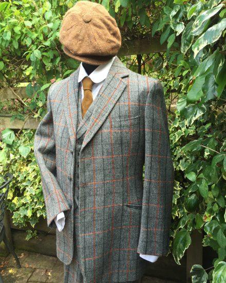 Masquerade Peaky Blinders Tweed Suit Masquerade