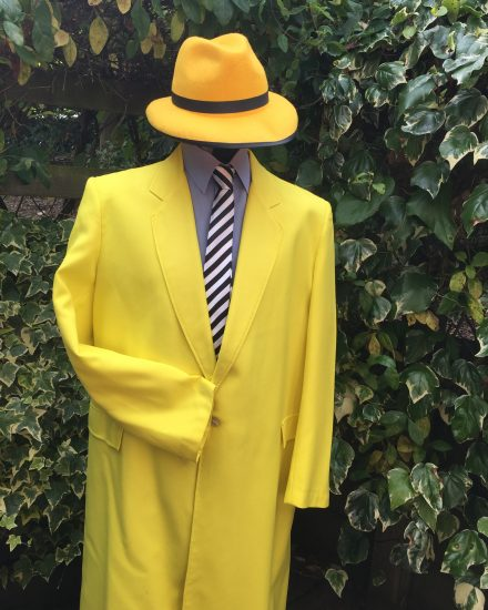 Masquerade Mask, Yellow Zoot Suit - Masquerade Zoot Suit The Mask