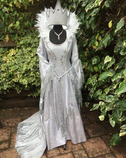 Masquerade Silver Ice Queen Costume Masquerade