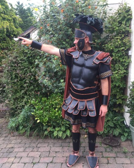 : leather gladiator costume  - Germanpascual.Com
