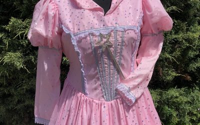 Pink sparkle Glinda the good witch