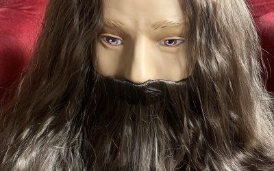 Hagrid wig & beard set