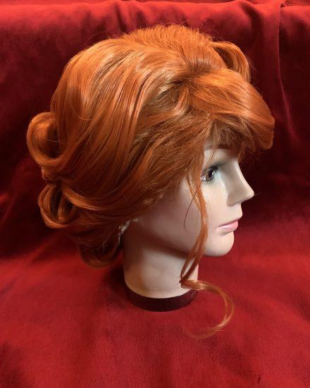 Auburn set Edna Turnblad Wig