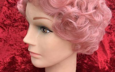 Pink Fingerwave wig