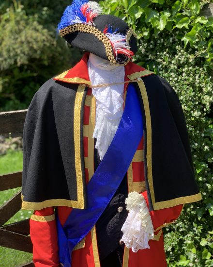 Red town crier