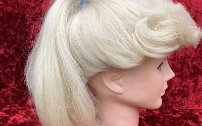 Blonde sandy ponytail wig