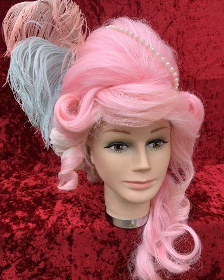 Pink Marie Antoinette wig